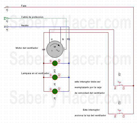 Cooperativademantenimiento instalacion - Instalacion de ventilador de techo ...