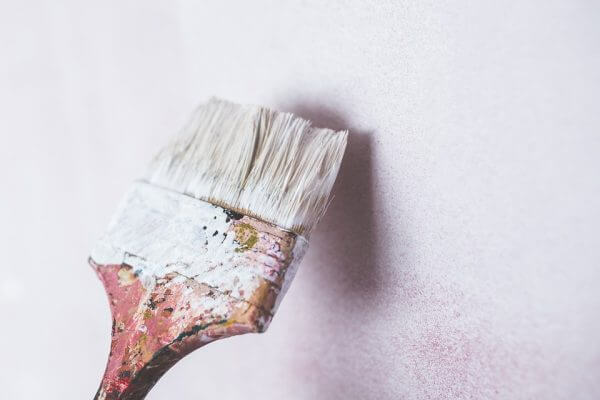 Brocha para pintar paredes