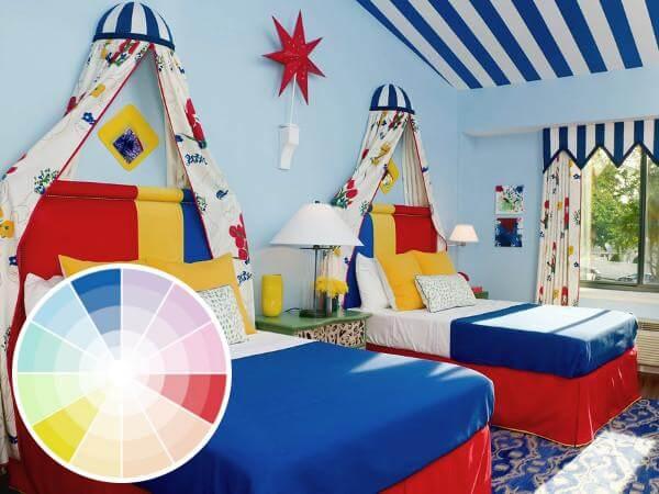 Dormitorio infantil colorido