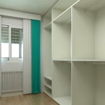 Diseñando el interior de un armario o placard