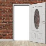 ¿Cómo eliminar el roce en una puerta?