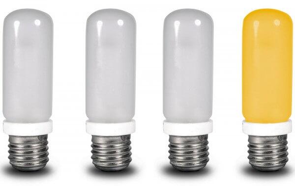 Cuatro lámparas