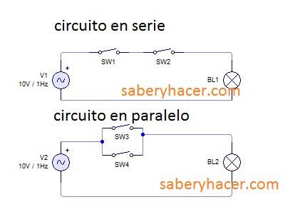 conexion de circuto en serie y en paralelo