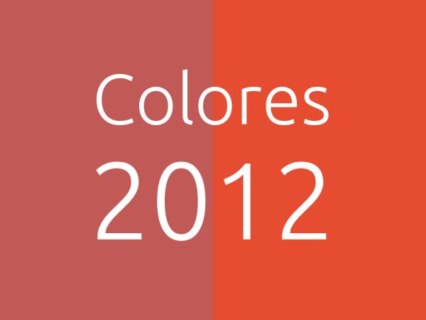 Colores 2012