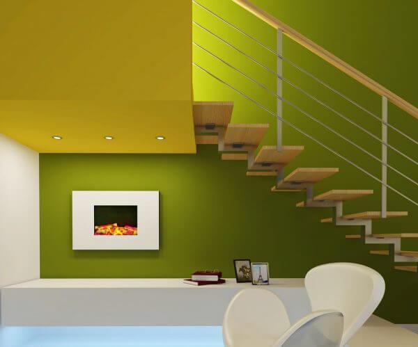 Tonos verdes para pintar las paredes saber y hacer for Gama colores pintura pared