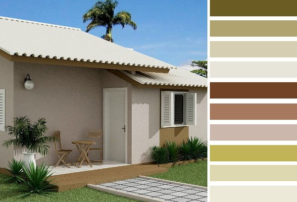 Colores para frentes de casas saber y hacer for Colores para pintar fachadas de casas