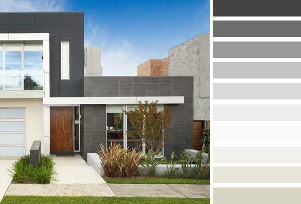 Colores para frentes de casas saber y hacer for Colores elegantes para exteriores