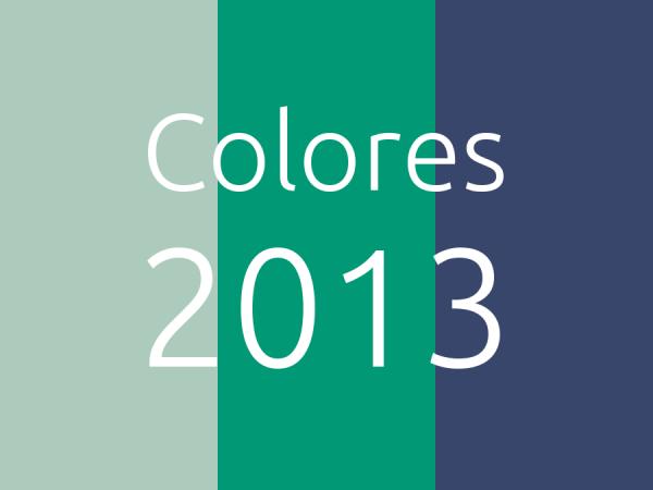 Colores 2013