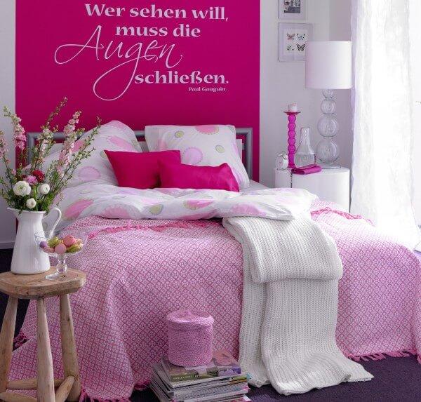 Dormitorio rosa